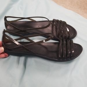 NWT Crocs Isabella sandal